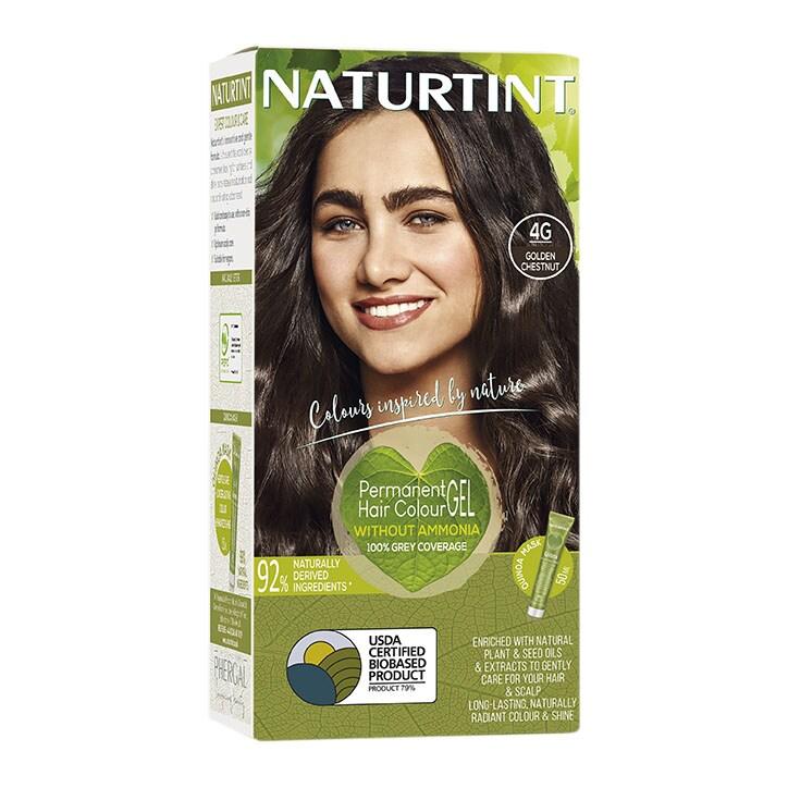 Naturtint Permanent Hair Colour 4G (Golden Chestnut)
