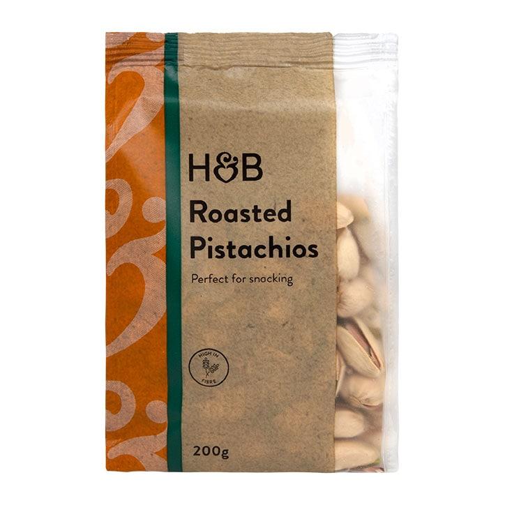 Holland & Barrett Unsalted Roasted Pistachio Nuts 200g