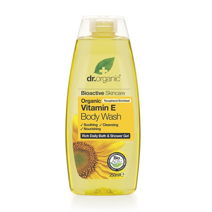 Dr Organic Vitamin E Body Wash 250ml