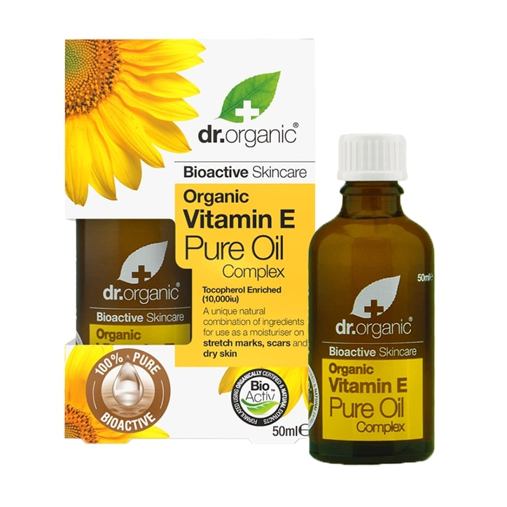 Dr Organic Vitamin E Pure Oil Complex 50ml