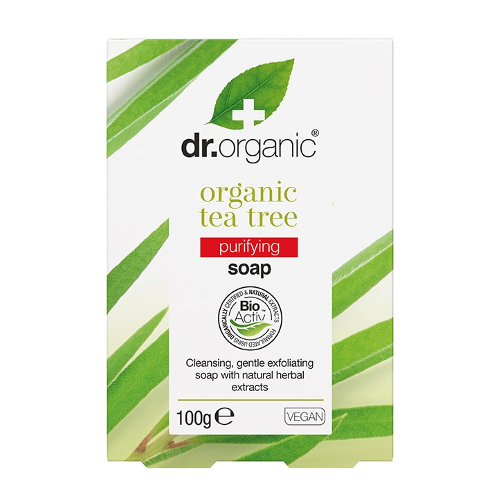 Dr Organic Tea Tree Soap