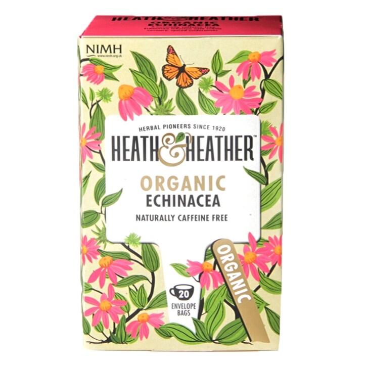 Heath & Heather Organic Echinacea 20 Tea Bags