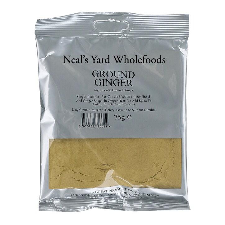 The Vital Ingredient Ground Ginger 75g