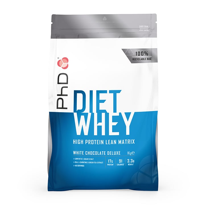 PhD Diet Whey Powder White Chocolate 1000g
