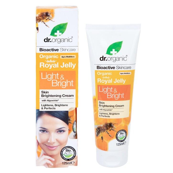 Dr Organic Royal Jelly Light & Bright Cream 125ml
