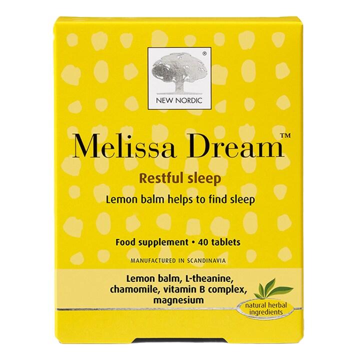 New Nordic Melissa Dream 40 Tablets