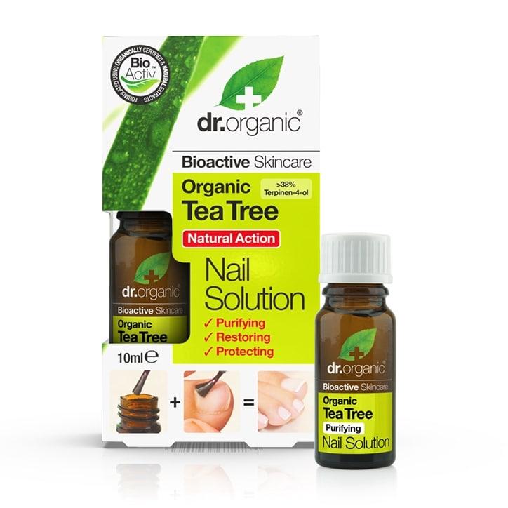 Dr Organic Tea Tree Nail Solution 10ml