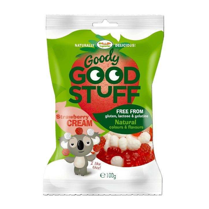 Goody Good Stuff Strawberry & Cream 100g