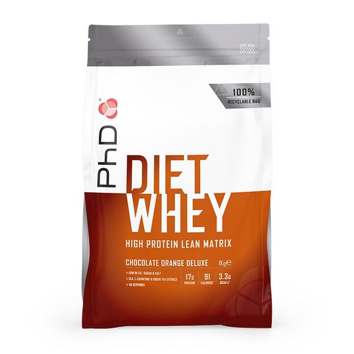 PhD Diet Whey Powder Chocolate Orange 1000g