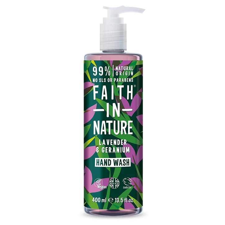 Faith in Nature Lavender & Geranium Handwash 400ml
