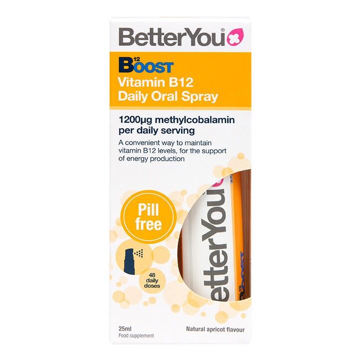 BetterYou Boost Daily Vitamins B12 Oral spray (25ml)