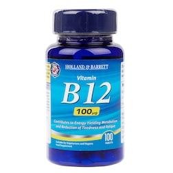 Holland & Barrett Vitamin B12 100 Tablets 100ug