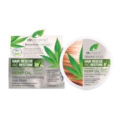 Dr Organic Hemp Oil Rescue & Restore Intensive Conditioner 200ml