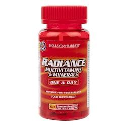 Holland & Barrett Radiance Multi Vitamins & Minerals One a Day 60 Tablets