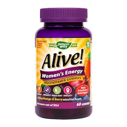 Nature's Way Alive! Womens Energy 60 Gummies