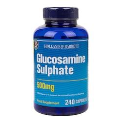 Holland & Barrett Glucosamine Sulphate 240 Capsules 500mg