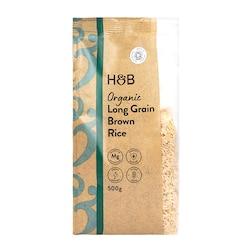 Holland & Barrett Organic Wholegrain Long Grain Rice 500g
