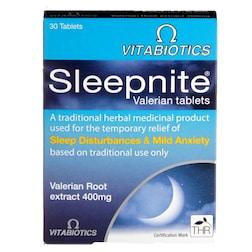 Vitabiotics Sleepnite Valerian 30 Tablets