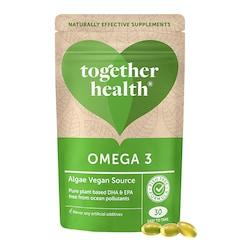 Together Natural Algae DHA Omega 3 30 Softgels