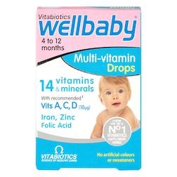 Vitabiotics Wellbaby Multi-vitamin Drops 30ml