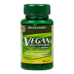 Holland & Barrett Vegan Multivitamin & Mineral 60 Tablets
