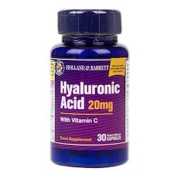 Holland & Barrett Hyaluronic Acid with Vitamin C 30 Capsules 20mg