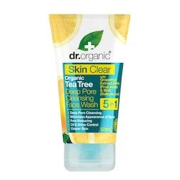 Dr Organic Skin Clear Deep Pore Face Wash 125ml