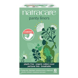 Natracare Natural Organic Panty Liners 30 Curved