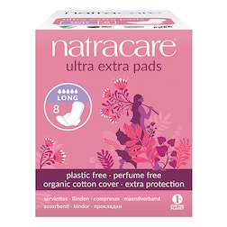 Natracare Natural Organic Ultra Extra Pads with Wings Long
