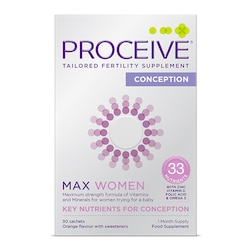 Proceive Max Women Advanced Fertility Supplement 30 Sachets