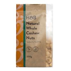 Holland & Barrett Whole Cashew Nuts 200g