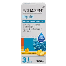 Equazen Eye Q Children's Liquid Citrus 200ml