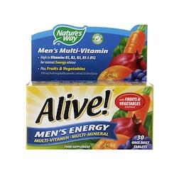 Nature's Way Alive! Men's Energy Multi-Vitamin 30 Tablets