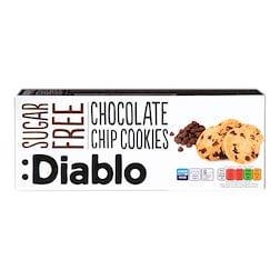 Diablo Sugar Free Chocolate  Chip Cookies 130g