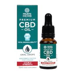 Holistic Herb Premium CBD Oil Double Strength 15ml