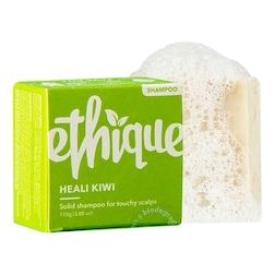 Ethique Heali Kiwi Shampoo Bar For Touchy Scalps 110g