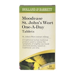 Holland & Barrett Moodease St. John's Wort One-A-Day 30 Tablets 425mg