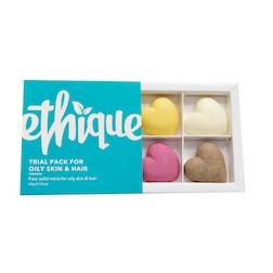 Ethique Trial Pack For Oily Skin & Hair Types 60g