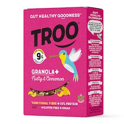 Holland & Barrett Troo Granola Nicely Nutty with Cinnamon 350g