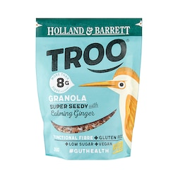 Holland & Barrett Troo Granola Super Seedy with Ginger 350g