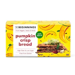 The Beginnings Pumpkin Crispbread 80g