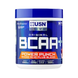 USN BCAA Power Punch Cherry 400g