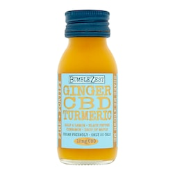 Bumblezest Ginger, Turmeric and CBD Drink 60ml