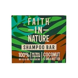 Faith in Nature - Shampoo Bar Coconut & Shea Butter 85g