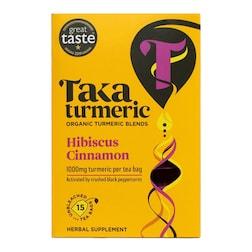 Taka Turmeric Hibiscus Cinnamon Tea 15 Bags