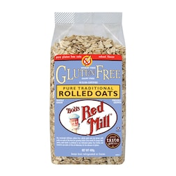 Bobs Red Mill Pure Rolled Oats 400g