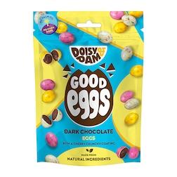 Doisy & Dam Vegan Dark Chocolate Good Eggs 75g