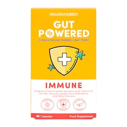 Holland & Barrett Gut Powered Immune Support 30 Capsules