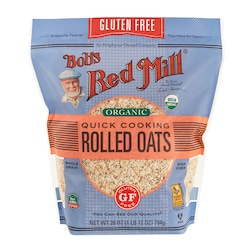 Bobs Red Mill Gluten Free Organic Quick Rolled Oats 794g