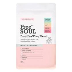 Free Soul Dual Use Blend Whey Chocolate 510g